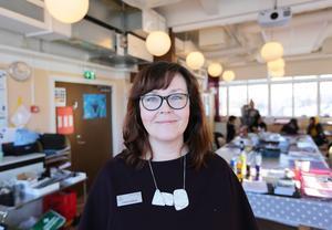 Linda Sandberg får Borlänge kommuns Pedagogiska pris 2018.