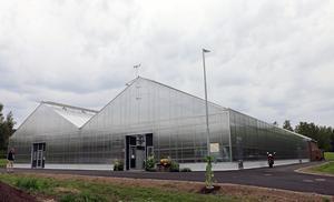 Växthuset i Hagaparken i Hofors invigdes i juni.