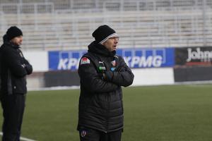 Peo Ljung fick inte vinna i sin återkomst till Behrn arena.