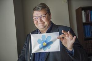 Sverigedemokraternas EU-kandidat Peter Lundgren. Foto: Stina Stjernkvist / TT