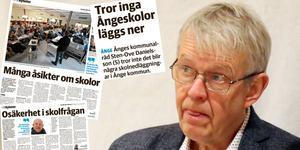 """""""Ingen ville gå vidare enligt skolutredningens förslag"""", sa kommunchef Stefan Wallsten vid avrapporteringen i skolfrågan."""