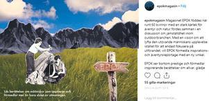 Bild: Christine Johanson Christine Johanson skapar bilder till magasinet Epok. Hon hoppas att magasinet kommer att göra sitt premiärsläpp innan april 2019.