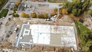 Rimbo nya skola, ett investeringsobjekt. Foto: Norrtälje kommun