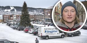 Centrumutvecklare Calle Hedman från Destination Östersund.