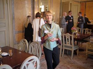 Forskaren Ulla Hellstrand, aktiv i Falun och Ludvika, har fått stipendium från Familjen Jacobssons stiftelse.  Foto: Jan Johansson