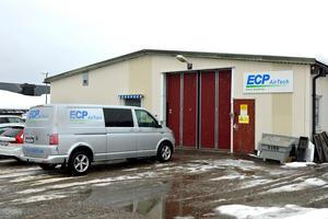 Här på Permobils gamla område på Alnö har ECP Airtech sitt kontor.