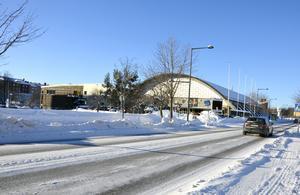 Vid Sporthallen planeras det för ett nytt åttavåningshus.