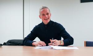 Douglas Karlberg är VSK Fotbolls första nyförvärv till 2018.