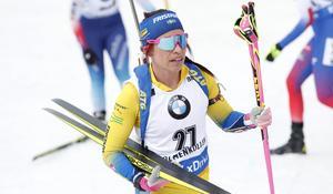 Elisabeth Högberg ser stark ut så här i säsongsstarten. Bra insats i Idre och även nu i Sjusjöen. Foto: TT
