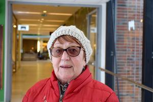 Gunilla Söderström, 76, pensionär, Sundsvall: