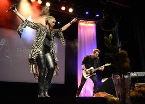 Jessica Falk rockad loss och höjde