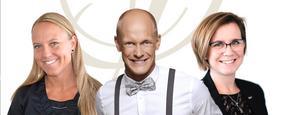 Lena Sturebrand, Tobias Carlsson och Suzanne Lagerholm är årets föreläsare på Leading Ladies 7 september.