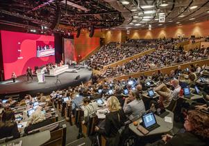 Socialdemokraternas partikongress i Örebro i maj i år.