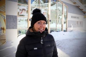 Susanne Königsson från Kramfors kommun berättade om de planerade satsningarna vid Skuleberget.