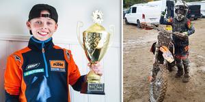Trots att säsongen var trög från start och skadan var ett faktum, så avslutade Simon Nyman årets motorcrossäsong på topp.