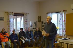 Rolf Almstedt är ordförande för Sörmedsjöns byförening.