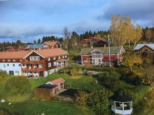 Gården Jakobas i Kåsjö, Järvsö. Foto: Pelle Nyberg/Bild ur boken Järvsöbyarna 18.