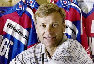 Ivan Hansen efter spelarkarriären, här plåtad inför en säsong som tränare i Tyringe. Foto: Bildbyrån.
