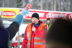 Kontrollchefen Leif Lekander gjorde sitt 55:e år i Oxbergs kontroll.