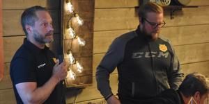 Peter Iversen och tränaren Jeff Jakobs sa att man kommer att jobba stenhårt för att få Mora på vinnarspåret.