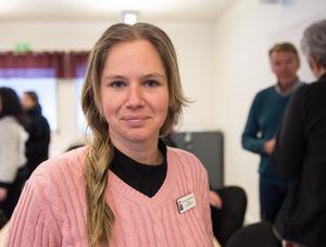 Domarhagsskolans rektor Monica Anderstedt.