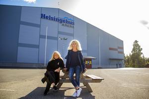 Pia Jonsson och Susanne Hillström Becker var framgångsrika bandyspelare. Susanne gjorde till och med några landskamper och Pia var med på några landslagsläger.