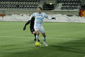 Samuel Gussman i förra söndagens match mot Malmö FF.