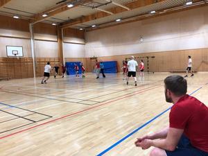Bild från ÖHK:s träningspass. Foto: Privat.