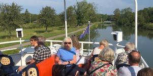 SKPF Borlänge har gjort en resa längs Göta kanal.