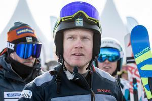 Victor Öhling Norberg återvänder till Innichen, ett år efter Anna Holmlunds olycka. Bild: TT