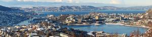 Vackra norska Bergen sa nej till att låta sig förfulas av amerikanska reklamföretag. Foto: Chell Hill