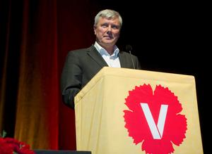 Lars Ohly, lämnar Vänsterpartiet efter 39 år. Foto: Leif R Jansson/TT