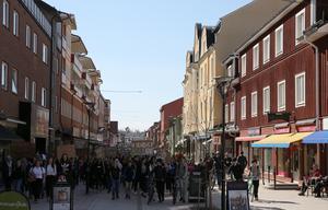 Flera hundra högstadieelever demonstrerade i Mora mot nedskärningar i skolan.