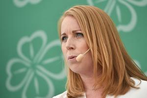 Annie Lööf (C), partiledare. Foto: Vilhelm Stokstad/TT