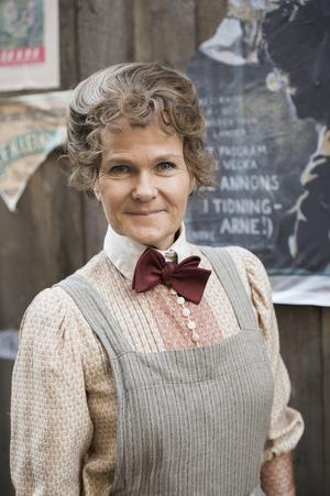 Sissela Kyle spelar Dagmar Friman i SVT:s dramaserie