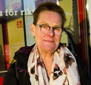 Åsa Morin, 60+. vårdbiträde, Alnö.