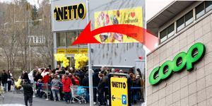 Netto i Geneta öppnade sin nya butik 2012. Foto: Mats Andersson (LT) / Tomas Oneborg (SvD / TT)