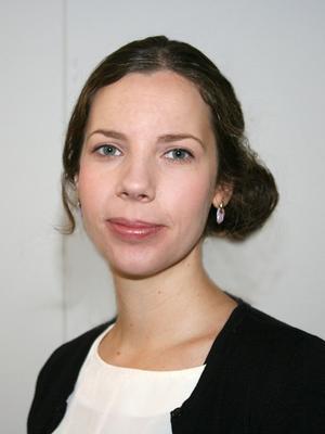 Eleonora Hans, informationschef på Viking Line, har flera smultronställen på Åland. Foto: Viking line