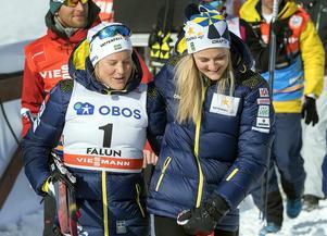 Foto: Foto: Ulf Palm / TTHann Falk och Stina Nilsson är positiva till landslagets omorganisation