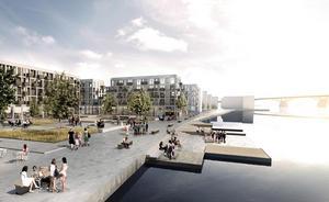 Mangnolias bygge på Beijertomten sätter igång i november. Bild: Pressbild