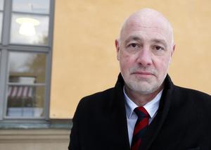 Mikael Cederberg är förbundsdirektör i Jämtlands gymnasieförbund.