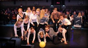 Kulturskolans Dansensemble Grand och Demi.