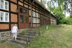 Nazisternas forna Riksläkarskola i Al Rehse i Mecklenburg. Här var Sara Toll rektors- och SS-hustru.