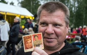 Rolf Burman var glad. Äntligen hade han autografer på sina gamla idol-filmisar.