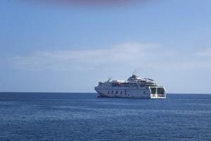 Färjan från Portomão till Madeira tog runt 24 timmar. Bild: Mikael Palm