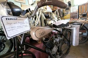 Lättviktaren Brage med Ragnemotor 184 cc årsmodell 1937.