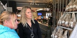 Annelie Hammar besökte Helene Pålssons nyöppnade butik.