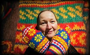 Vantar visas just nu i en utställning på länsmuseet i Härnösand. Erika Nordvall Falck visar.Bild: Katarina Östholm