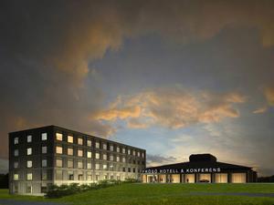 Ett femvåningshotell börjar byggas av Frösö Park i mars.