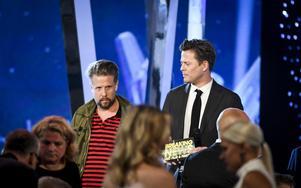 Alltid lika populära Filip Hammar och Fredrik Wikingsson tog hem priset som årets manliga programledare.